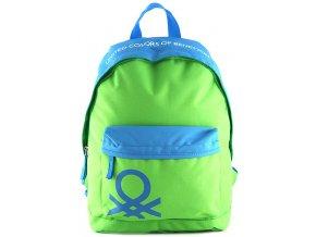 Benetton - batoh na volný čas zeleno-modrý