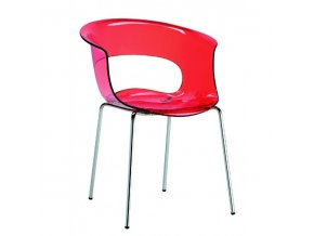 SCAB - plastová židle MISS B ANTISHOCK 4 nohy