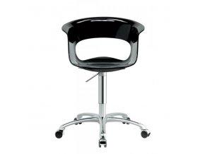 SCAB - plastová židle MISS B OFFICE ANTISHOCK