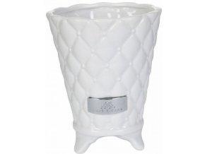 Lene Bjerre - květináč PRECIOUS 12 cm bílý