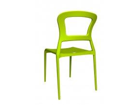 SCAB - plastová židle PEPPER