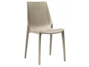SCAB - zahradní plastová židle LUCREZIA