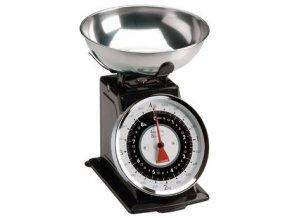 Typhoon - Kuchyňská váha Retro Scales černá