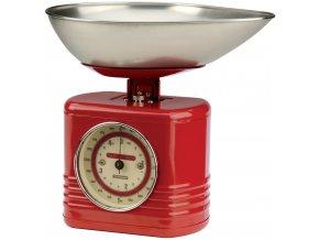 Typhoon - Kuchyňská váha Vintage Scales červená