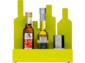Sagaform - Kuchyňský stojánek Form Storage Stand zelený