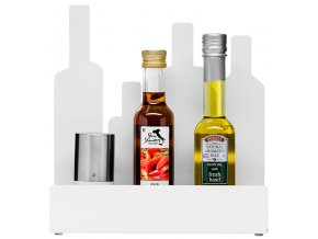 Sagaform - Kuchyňský stojánek Form Storage Stand bílý