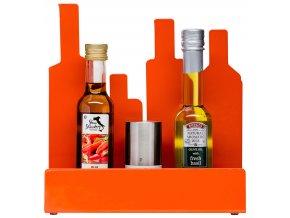 Sagaform - Kuchyňský stojánek Form Storage Stand červený
