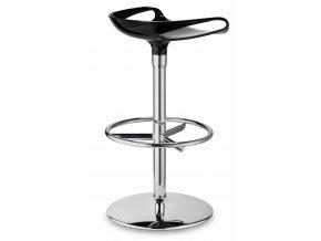 SCAB - barová plastová židle ZOE TWIST