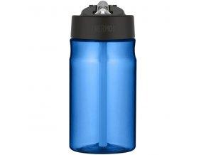 Thermos - dětská láhev s brčkem 350 ml modrá