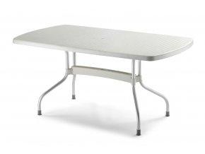 SCAB - plastový zahradní stůl OLIMPO, top 160 x 90 cm