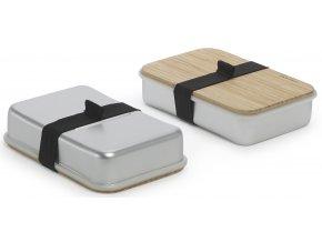 BLACK-BLUM Sandwich Box, stříbrný