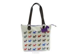 SANTORO taška Shoulder Bag SCOTTIE DOGS