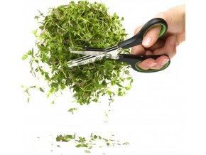 Sagaform trojbřité nůžky na bylinky Herbs