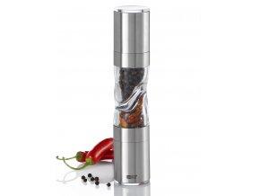 AdHoc - Mlýnek DUOSPICE sůl/pepř + chilli střední