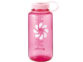NALGENE - láhev na pití Wide Mouth 1000 ml Pink