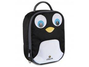 LittleLife svačinový box pro děti Animal Lunch Pack - tučňák