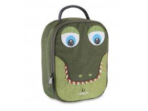 LittleLife svačinový box pro děti Animal Lunch Pack - Krokodýl
