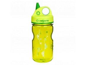 Odolná láhev pro děti a batolata Nalgene zelená 1