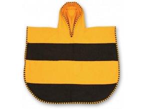 LittleLife dětský plážový ručník Ultralight Poncho Towels Bee