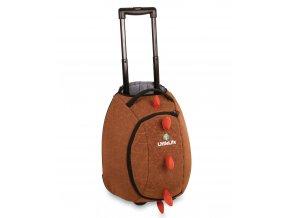 LittleLife dětská cestovní taška Animal Wheelie Duffles Dinosaurus