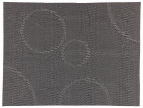 Zone - prostírání s kruhy šedé