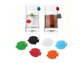 BALVI rozlišovače skleniček Aquarium sada 6 ks