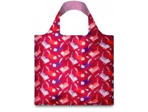 LOQI - skládací nákupní taška Cats by Ana Seixas