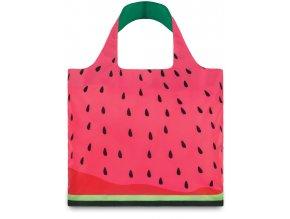 LOQI - skládací nákupní taška Watermelon