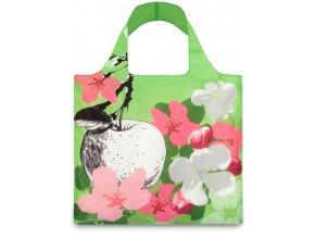 LOQI - skládací nákupní taška Blossom