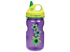 NALGENE - dětská láhev Grip'n Gulp 375 ml Sea Turtles