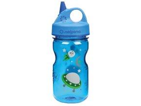 NALGENE - dětská láhev Grip'n Gulp 350 ml Space