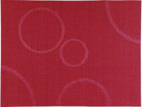 Zone - prostírání s kruhy červené