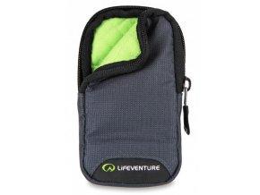 Lifeventure RFiD Phone Wallet Black - bezpečnostní kapsička na telefon šedá