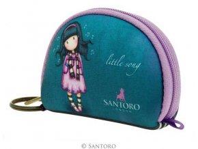SANTORO - pouzdro/peněženka LITTLE SONG