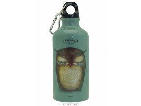 SANTORO - lahev na pití GRUMPY OWL 500 ml