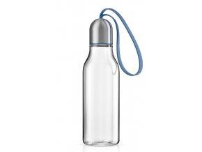 Eva Solo - sportovní láhev na pití 0,7l modré poutko