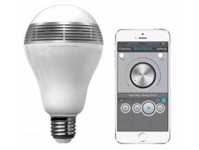 MiPow Playbulb chytrá LED Bluetooth žárovka s reproduktorem