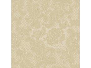 PPD - papírové ubrousky Lace Embossed krémové