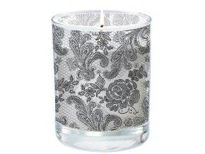 PPD  - svíčka Lace Royal šedá