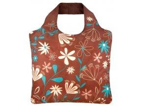 ECOZZ nákupní taška Brown 2