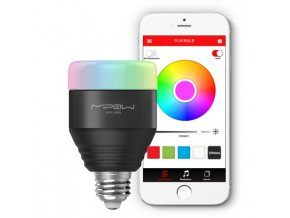 MiPow Playbulb™ Smart chytrá LED Bluetooth žárovka černá
