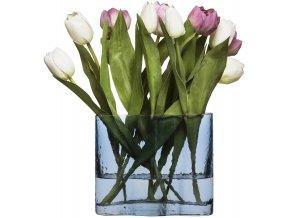 Sagaform váza Siluett modrá