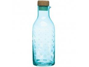Sagaform - karafa Aqua drop 1300 ml tyrkysová