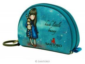 SANTORO - pouzdro/peněženka HUSH LITTLE BUNNY
