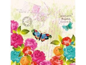 PPD - papírové ubrousky Spring Letter