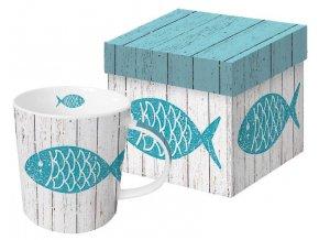 PPD - Hrnek v krabičce Ryba