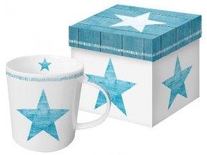 PPD - Hrnek v krabičce Star Fashion aqua