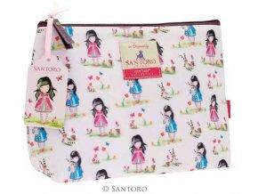 SANTORO - kosmetická taška Pastel Pattern Print Ladybird