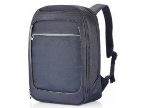 XD Design MILANO batoh na notebook stříbrný