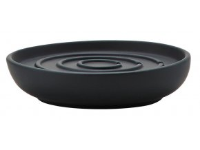 ZONE tácek na mýdlo Nova černá
